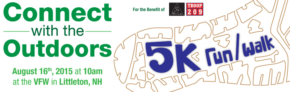 Tender Corp - Connect With The Outdoors - 5k Walk / Run - August 17th 2014 at 10am